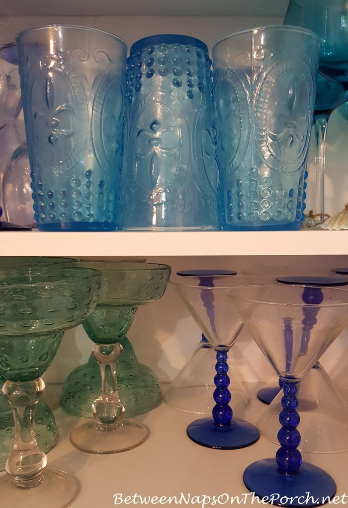 Glassware looks and feels greasy, cloudy after storage in cabinets