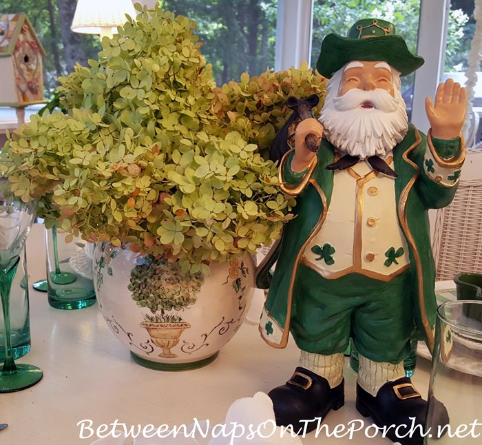 Happy Leprechaun for Table Setting