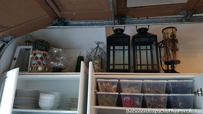 Lantern & Candle Holder Storage