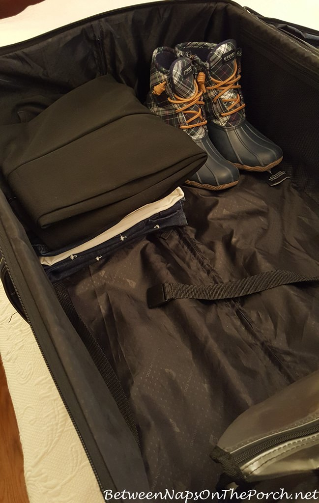 Large Suitcase, Packing for Travel