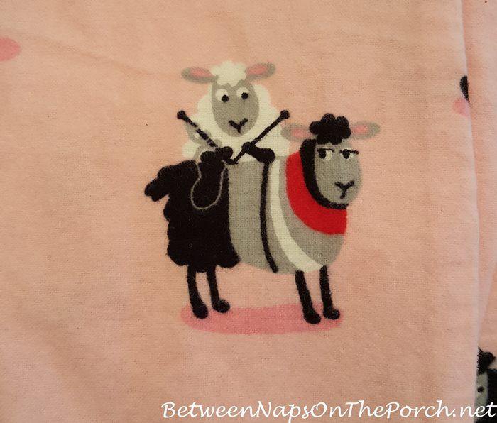 P. J. Salvage Sheep Pajamas