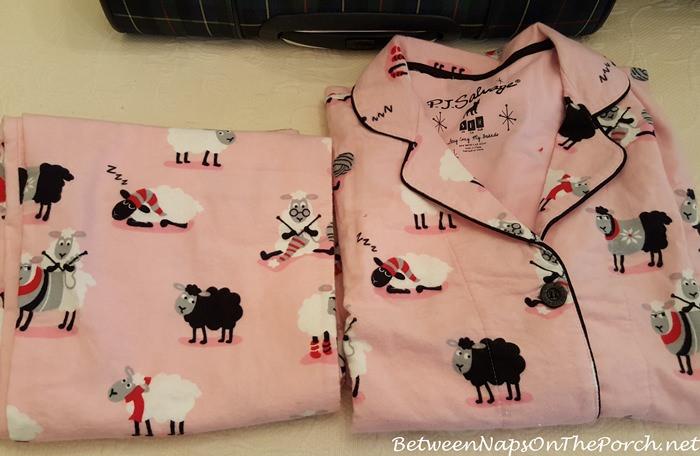 P.J. Salvage Pink Sheep Pajamas