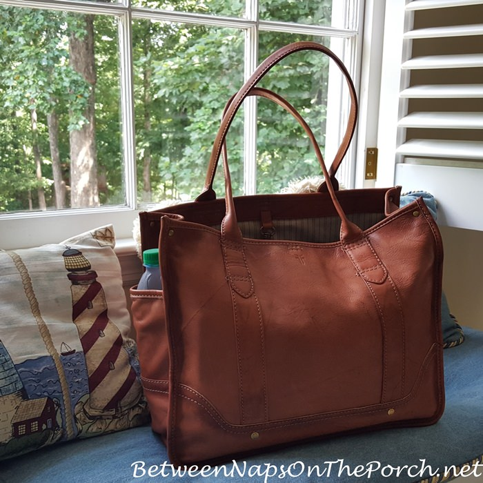 Saddle Frye Tote Bag