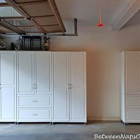 SystemBuild Cabinets for Garage Storage