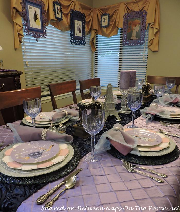 Table Celebrating Vintage Fashion
