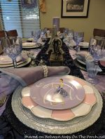 A Birthday Dinner Celebration with a Vintage Vogue Fashion Theme