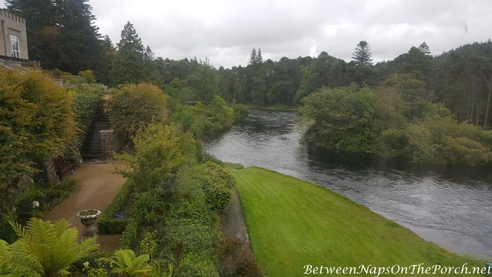 View from my room at Ballynahinch