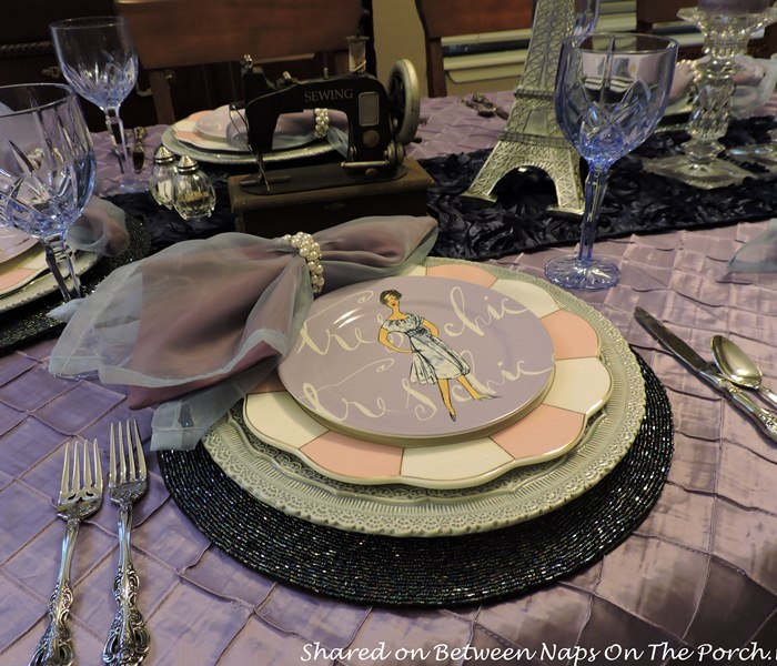 Vintage Stye Salad Plates, Fashion