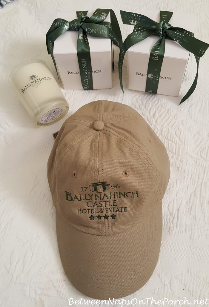 Ballynahinch Castle Hat and Ballynahinch Castle Candles