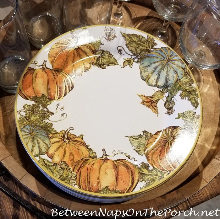 Beautiful Fall Dinnerware, Pottery Barn