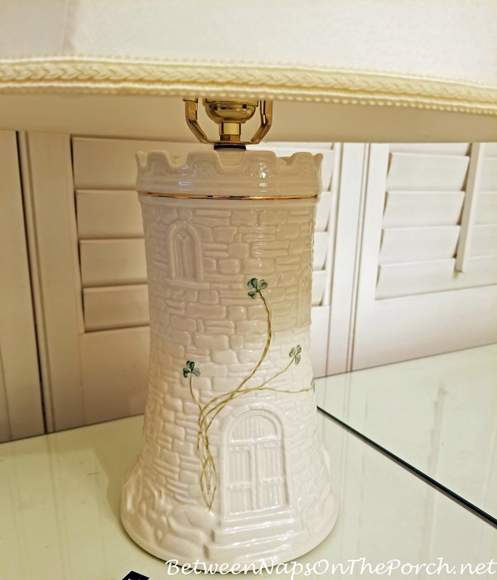 Belleek Castle Lamp base