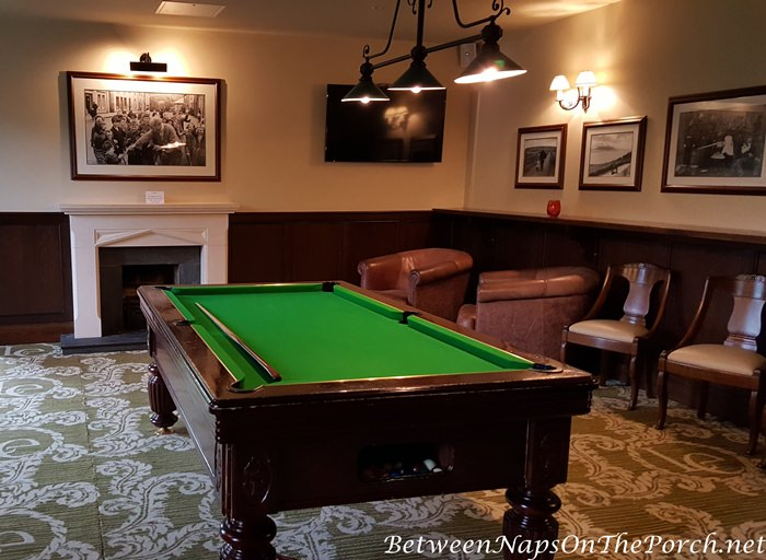 Billard Room, Lough Eske Castle