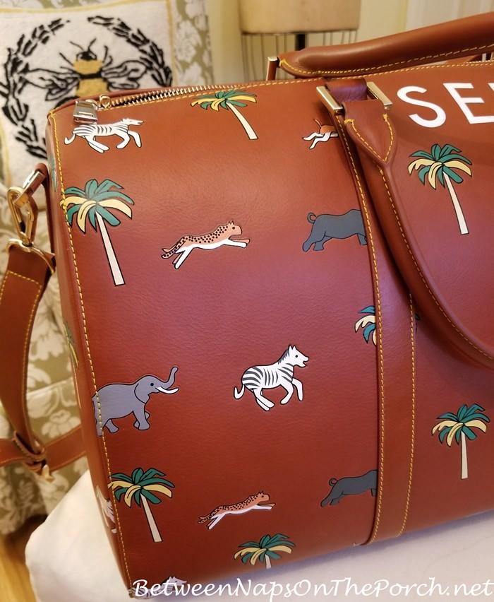 Darjeeling Limited Safari Luggage with Embossed Animals