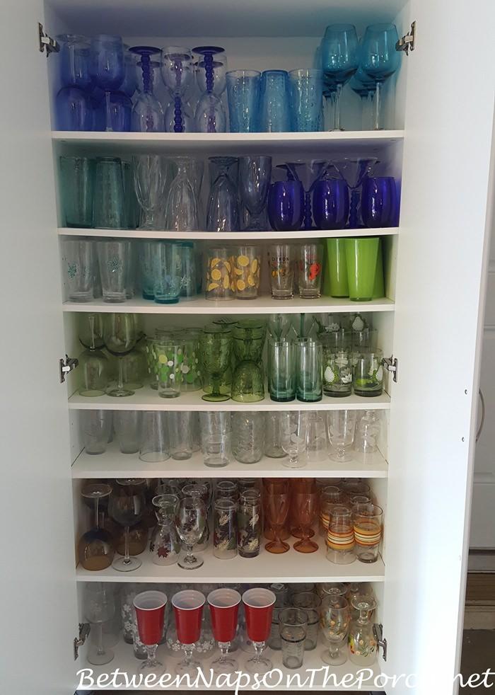 Dish Storage, Replacing bowing shelves
