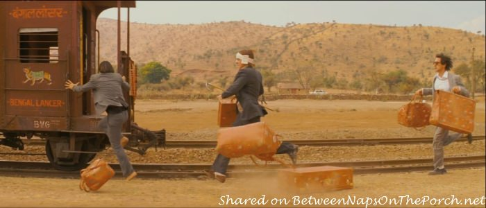 Ditching the Luggage at the end of The Darjeeling Limited Movie