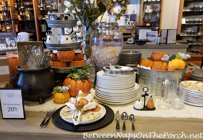 Fall Dinnerware, Pottery Barn