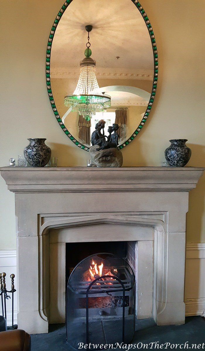 Fireplace with Mirror, Lough Eske Castle
