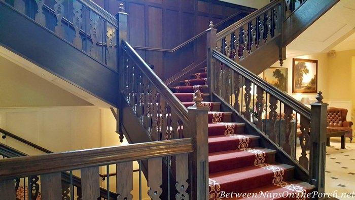 Grand Staircase, Lough Eske Castle