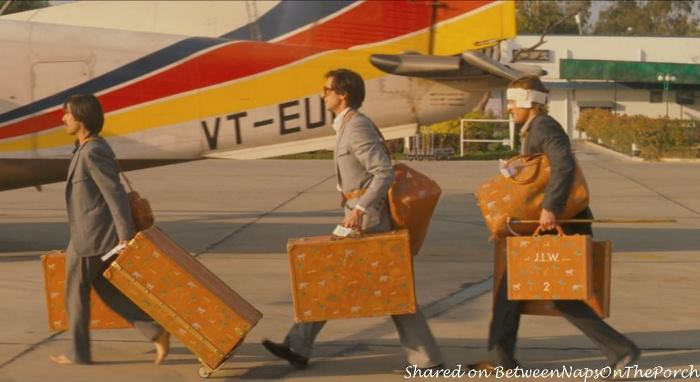 Infamous Louis Vuitton Luggage in Movie The Darjeeling Limited