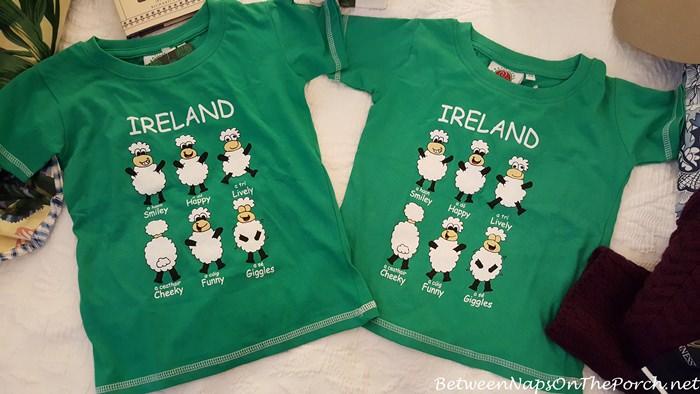 Ireland T-Shirts for Children