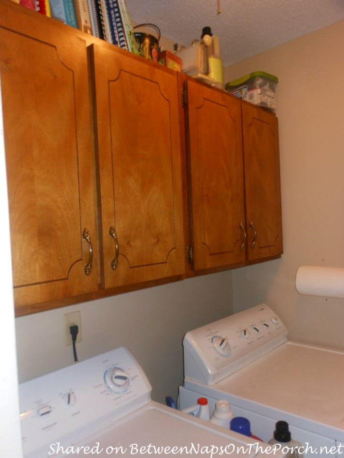 Laundry Room Created from Workroom