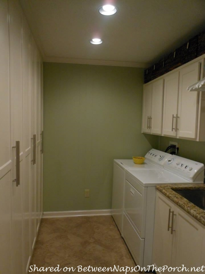 Laundry Room Design & Makeover