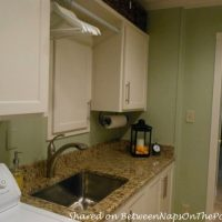 Laundry Room Renovation: Workroom Becomes a Beautiful Laundry Room