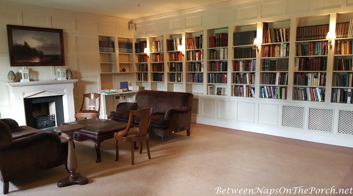 Lough Eske Castle Library