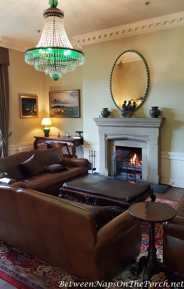 Lough Eske Castle Sitting Room