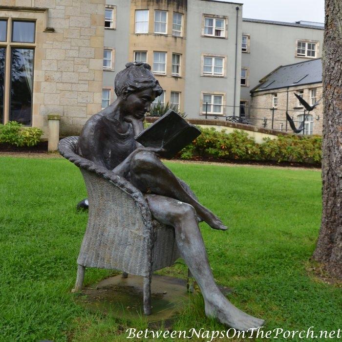 Lough Eske Castle Statuary in the Garden