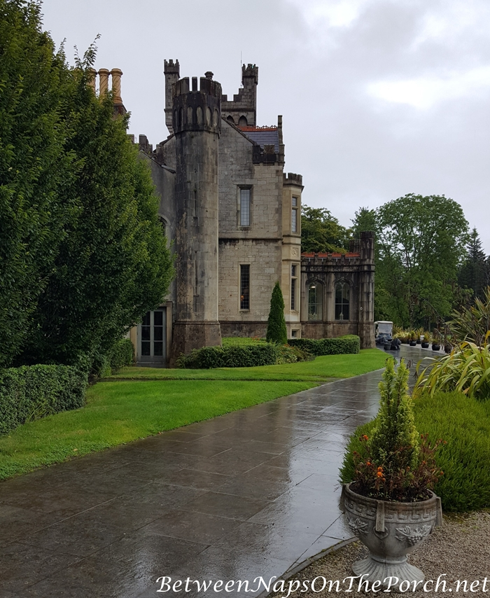 Lough Eske Castle, Tower view