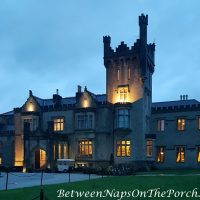 Lough Eske Castle after Nightfall