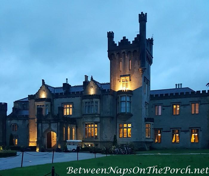 Lough Eske Castle after Nightfall