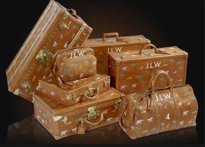 Louis Vuitton Luggage Designed by Marc Jacobs for movie, The Darjeeling Limited