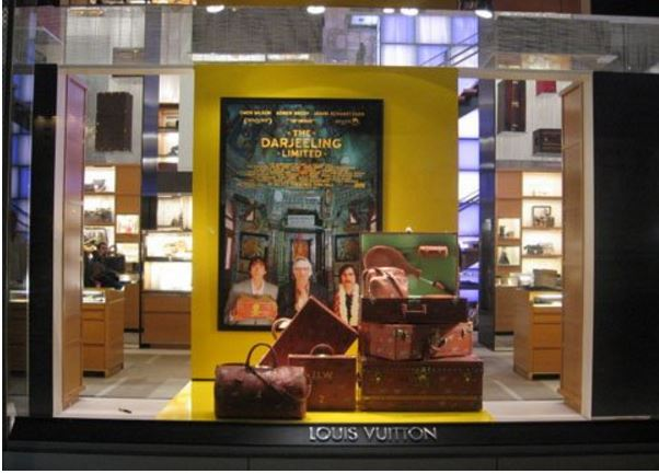 Louis Vuitton Luggage in Movie, The Darjeeling Limited