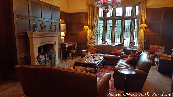 Paneled Living Room, Lough Eske Castle