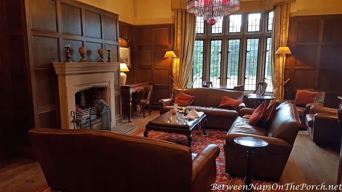 Paneled Living Room, Lough Eske Castle