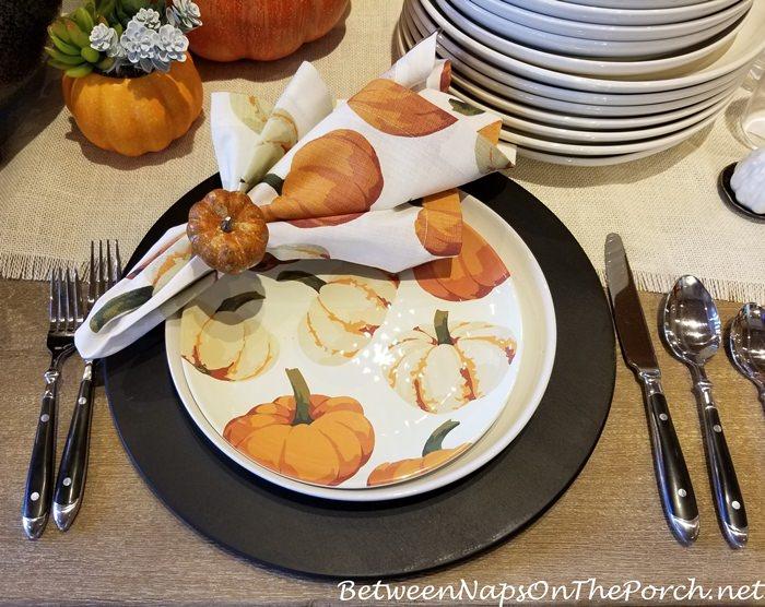 Pumpkin Plates, Pottery Barn