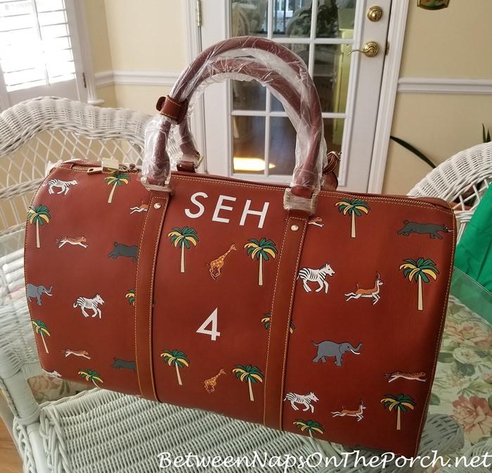 Safari Duffel Bag by Very Troubled Child