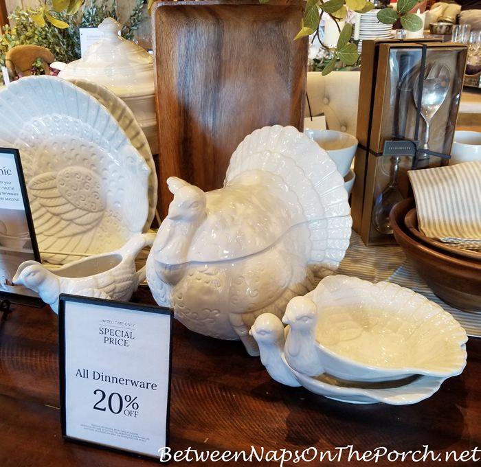 Turkey Tureen Centerpiece for Thanksgiving