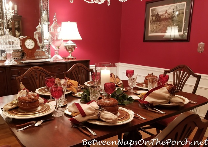 Autumn Holiday Table Setting