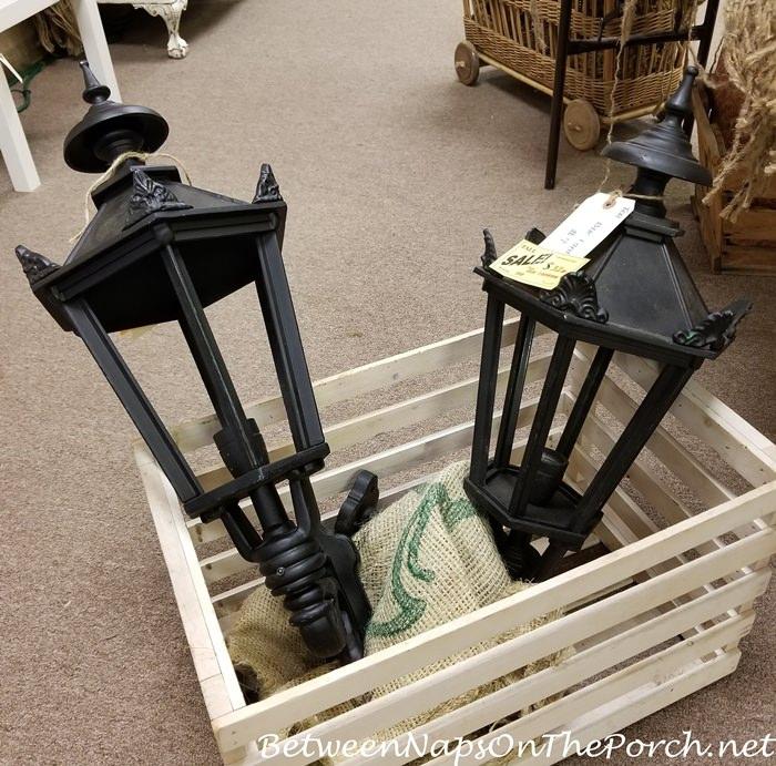 Black Outdoor Lanterns