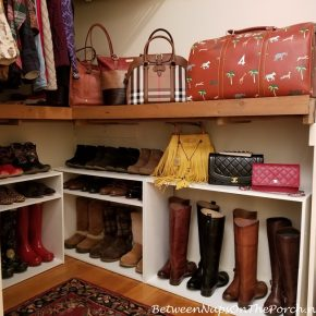 Boot and Shoe Storage
