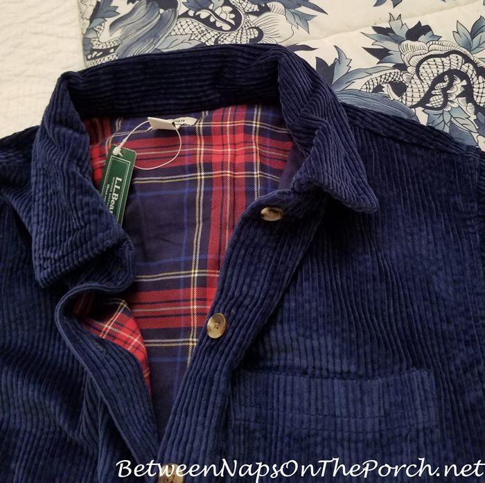 Corduroy Jacket, L.L. Bean