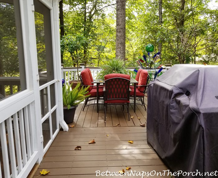 Deck Stained, Sherwin Williams Lodge Brown