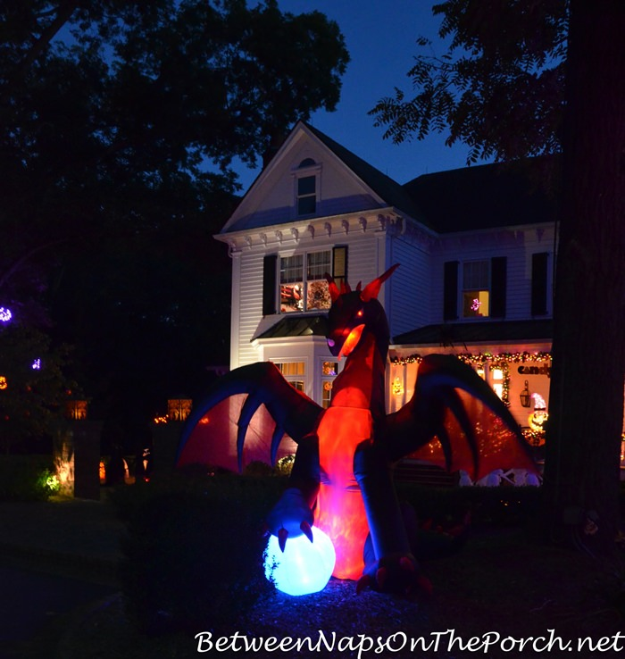 Decorate with Lights for Halloween