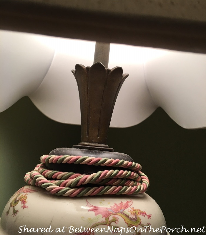 Decorative Neck on Lamp