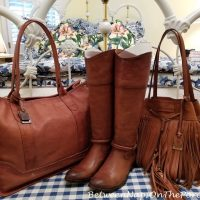 Frye Boots, Handbag and Tote