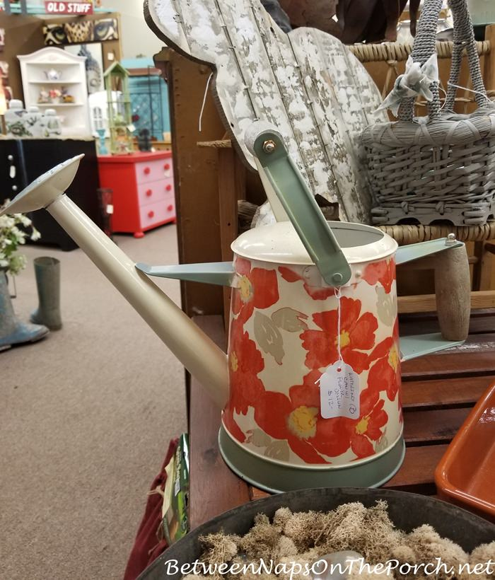 Floral Garden Watering Can