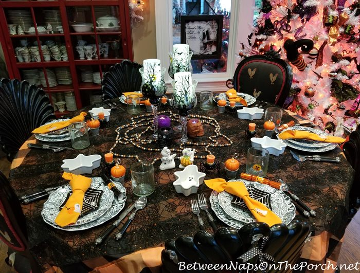 Halloween Table Setting, 2017